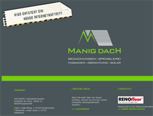 Tablet Preview of manig-dach.de